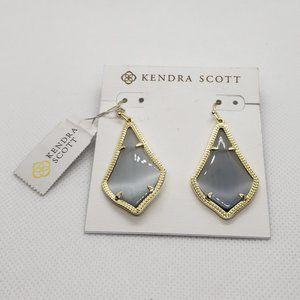 NWT Kendra Scott Alex Gold Drop Earrings